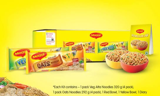 MAGGI Vegetable Atta & MAGGI Oats Noodles Welcome Kit
