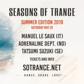 Manuel Le Saux Live @ Seasons Of Trance Oslo, Norway (May 25, 2019)
