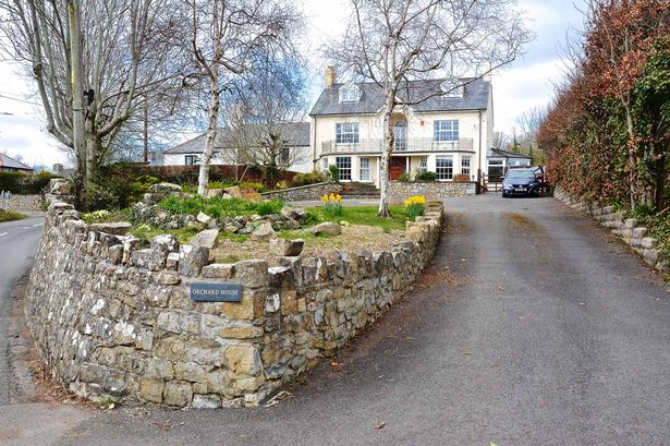 Orchard House in St Donats is being sold for £625,000 with Watts and Morgan