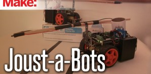 Ready, Set, Joust! Win a Robotics Starter Kit from Make: andRadioShack