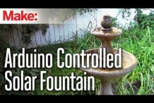 DIY Hacks & How To's: Arduino Controlled Solar Fountain