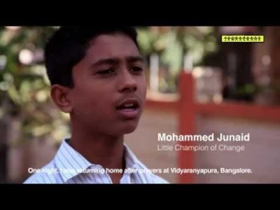 Mohammed Junaid - Little Champion of Change