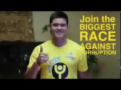 Dingdong Dantes on Freedom Run 2013