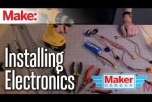 Maker Hangar Episode 11: Installing Electronics
