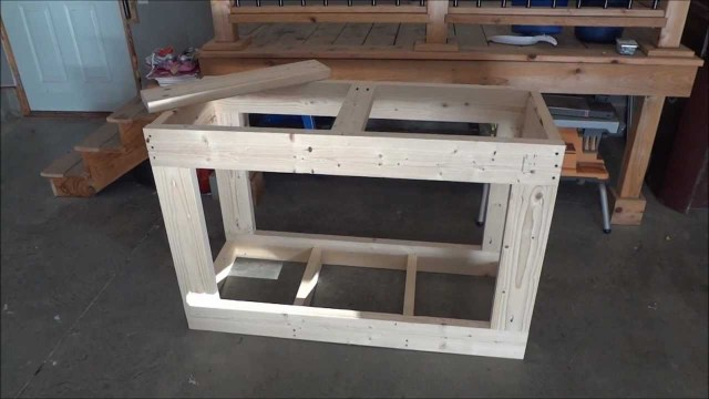 90 gal. Reef Tank Stand Build (part 1)   YouTube