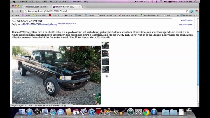 Craigslist Cars For Sale In Jacksonville Florida