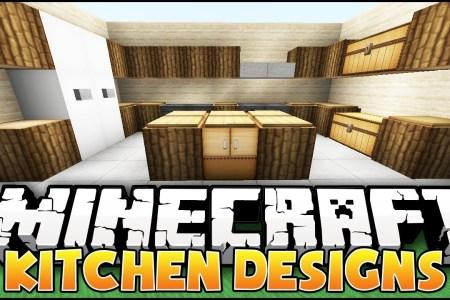 minecraft nice kitchen designs & ideas youtube