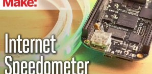 Internet Speedometer Blinks All Your Bits and Bytes