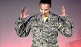 As combat ban is lifted for women, watch this talk from a female master sergeant