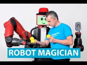 Marco Tempest to work with Baxter the Robot
