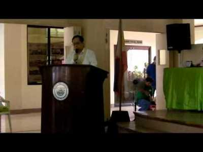 FEF President Calixto V. Chikiamco on RA10023 in Cuenca