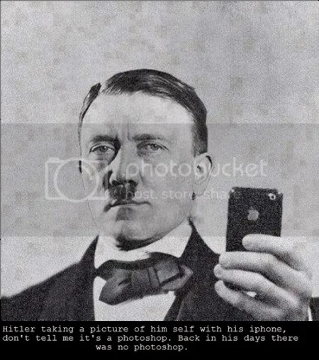 hitler iphone