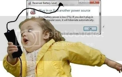 When My Computer Runs Out of Battery