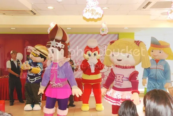 Jollibee Party Mascots