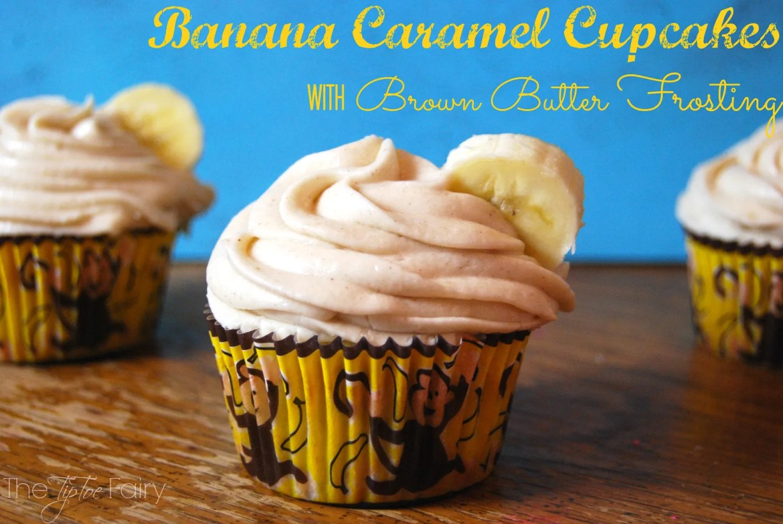 Banana-Carmel-Cupcakes | The TipToe Fairy