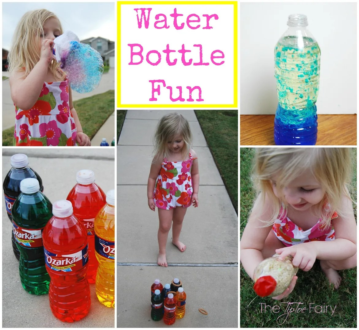 Water Bottle Fun | The TipToe Fairy #HealthyHydration #CollectiveBias #Ad #kidscrafts #crafttutorial