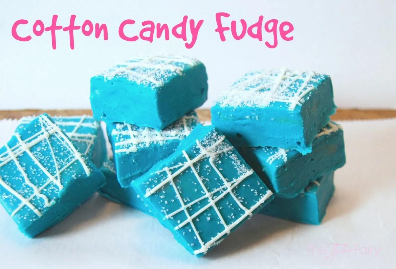 Cotton Candy Fudge | The TipToe Fairy