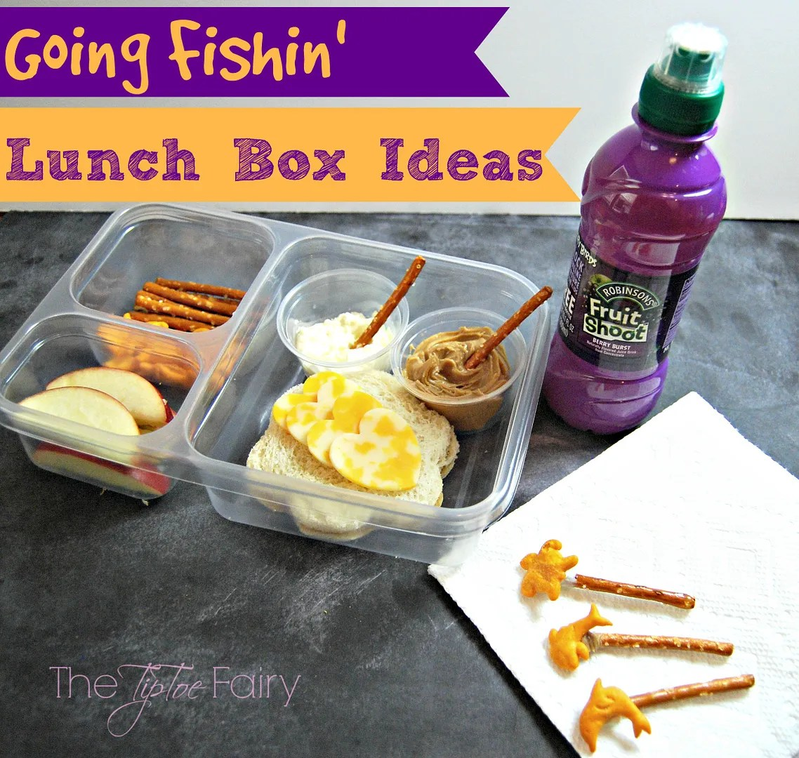 Lunch Box Ideas with Fruit Shoot | The TipToe Fairy