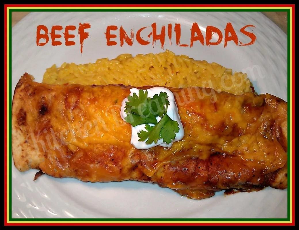 Beef Enchiladas | Kitchen Dreaming