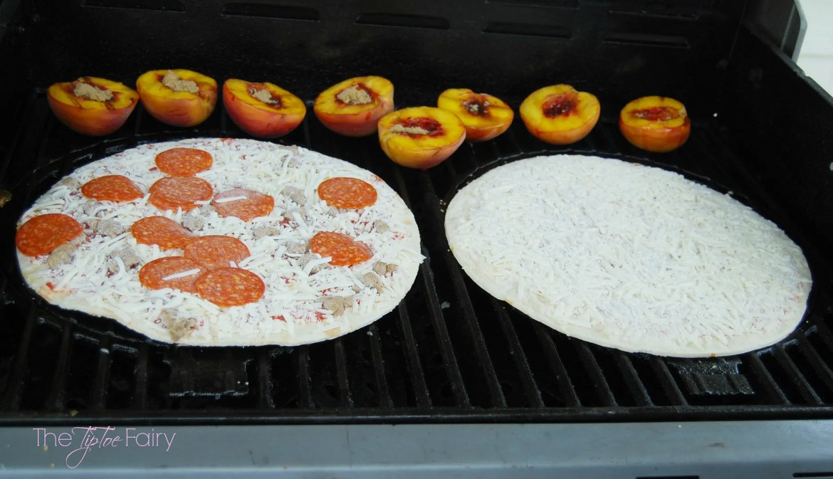 Grill Your Meal from Start to Finish | The TipToe Fairy #FoodMadeSimple #shop #grilling #grilledpizza #grilledromaine #grilledpeaches