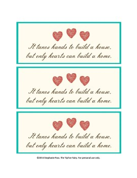 Essential Housewarming Gift with FREE Printable | The TipToe Fairy #APlusValues #CollectiveBias #shop #housewarminggift #tutorial #freeprintable