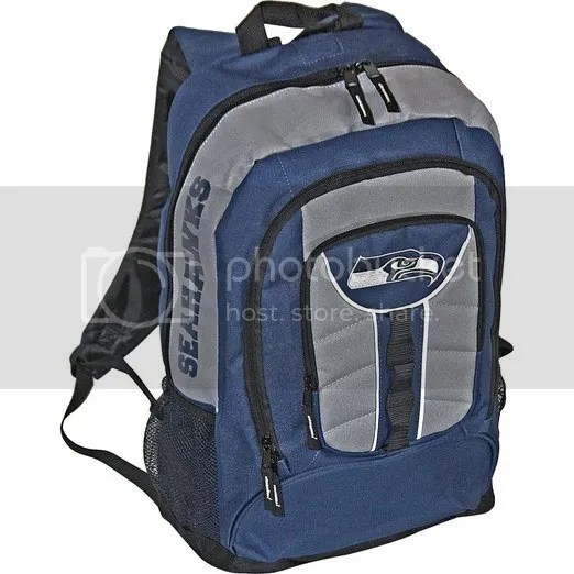 Seattle Seahawks Official NFL Colossus Backpack by Concept One 723526