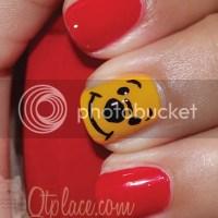 Winnie the pooh nail tut + finished pics