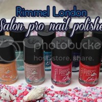 Rimmel London salon pro nail polish swatches