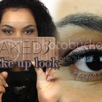 Eyelook video with the Naked 3 palette