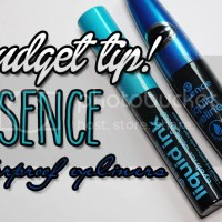 Budget tip! Essence waterproof eyeliners