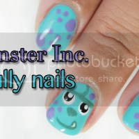 Monster inc Sully nails