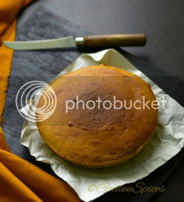 Eggless Oil Free Mango Cake 3