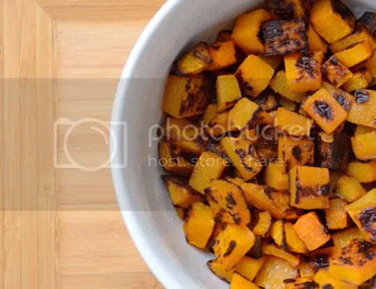 Pefectly Caramelized, Roasted Butternut Squash