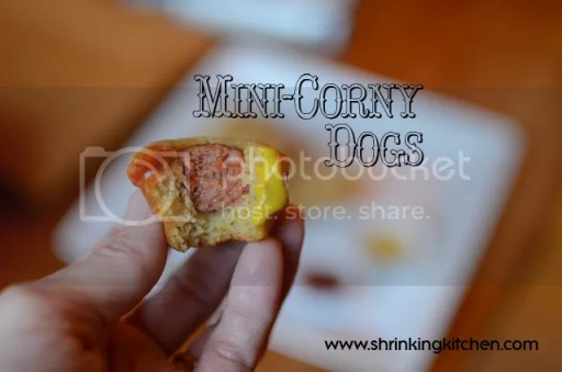 Mini-Corny Dogs