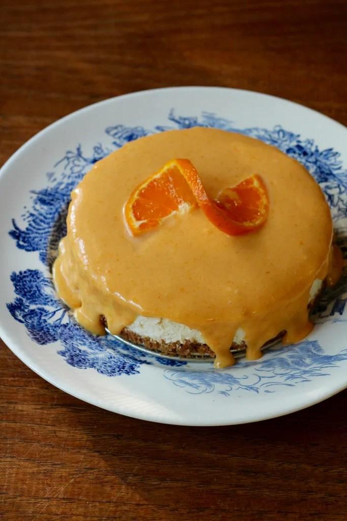 Mini Vanilla-Orange Creamsicle Cheesecake