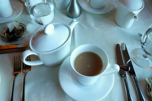 afternoon tea at the Oak Bay Beach Hotel