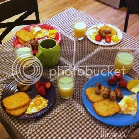 My homeschool day... dinner time! #homeschool #schedule