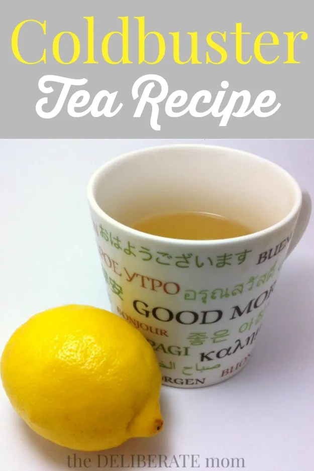 A modification of the Starbucks Coldbuster tea recipe. It's so delicious and better than any over the counter store-bought packaged drink mixes! This is my go-to cold remedy!