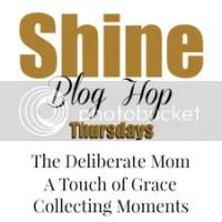 The SHINE Blog Hop