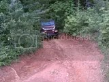Jeep up backroad