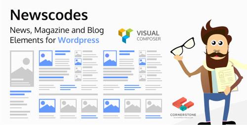 CodeCanyon - Newscodes v2.3.2 - News, Magazine and Blog Elements for WordPress - 14714969