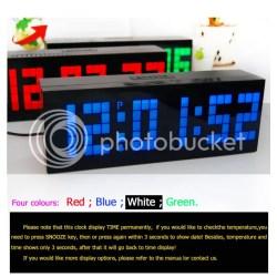 Antique Digital Large Big Jumbo Led Snooze Wall Desk Alarm Calendar Home Clock Digital Large Big Jumbo Led Snooze Wall Desk Alarm Clock Calendar Large Digital Wall Calendar Inkable Digital Electronic