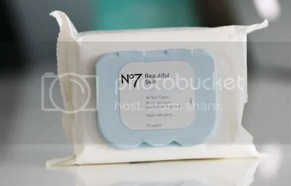 Boots No7 Beautiful Skin Quick Thinking Wipes