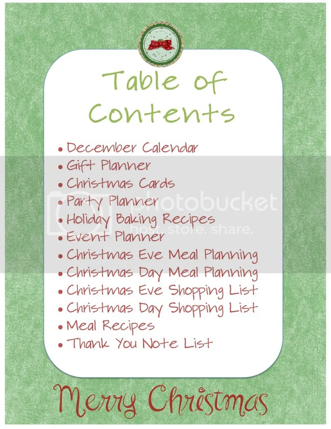 Holiday Planning Guide from Palmettos and Pigtails: Free printables to keep you organized!