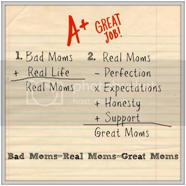 """I'm tired of all the """"good moms"""" on social media....perfect hair, smiling children, Pin-worthy DIYs. Am I the only """"bad mom"""" out there?!?!?!"""