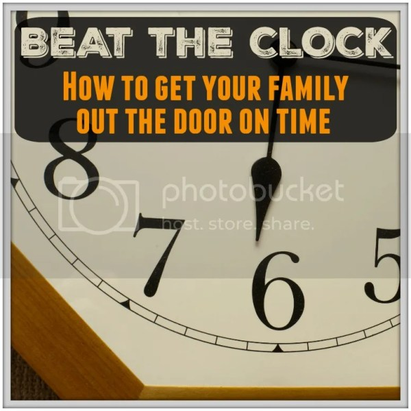 Tips from a Mom on how to get your family out the door on time #punctual #momtricks #hacks #parenting #late