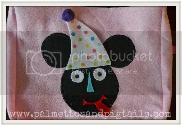 Mr. Mickey Mouse Head Bags from Palmettos and Pigtails