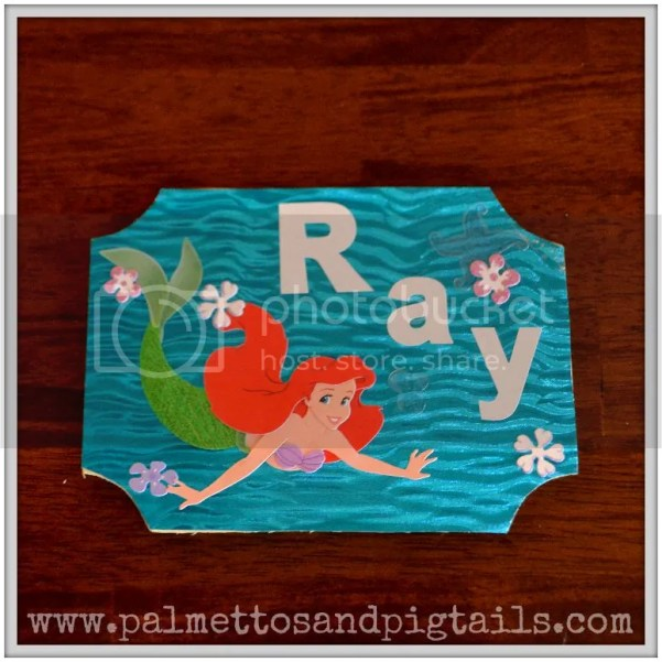 DIY Disney Stroller Tag Tutorial #disney #tutorial #DIY #disneyside #disneycrafts