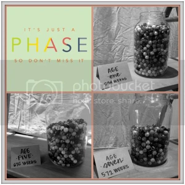 Childhood: It's Just a Phase...you are literally losing your marbles!