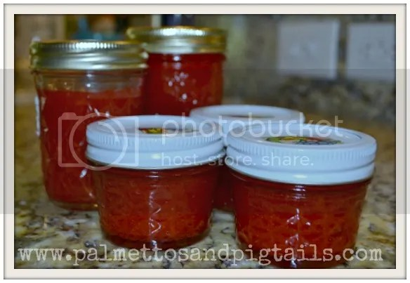 BEST EVER Strawberry Jam Recipe from Palmettos and Pigtails